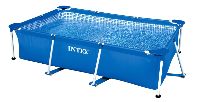 Фото каркасный бассейн Intex Rectangular Frame Pool арт:28270