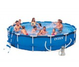 Фото каркасный бассейн Intex  Metal Frame Pool Set  арт: 28232
