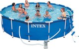 Фото каркасный бассейн Intex  Metal Frame Pool Set  арт: 28252